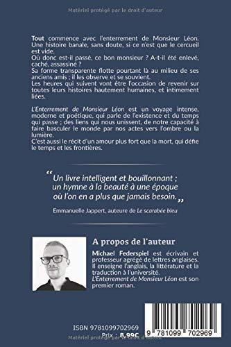 L Enterrement De Monsieur Leon Amazon De Michael