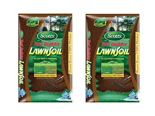 Scotts Turf Builder Lawn Soil, 1. 0-Cubic Foot (2)