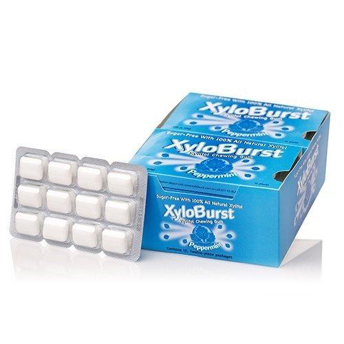 XyloBurst Blister Pack Peppermint pieces product image