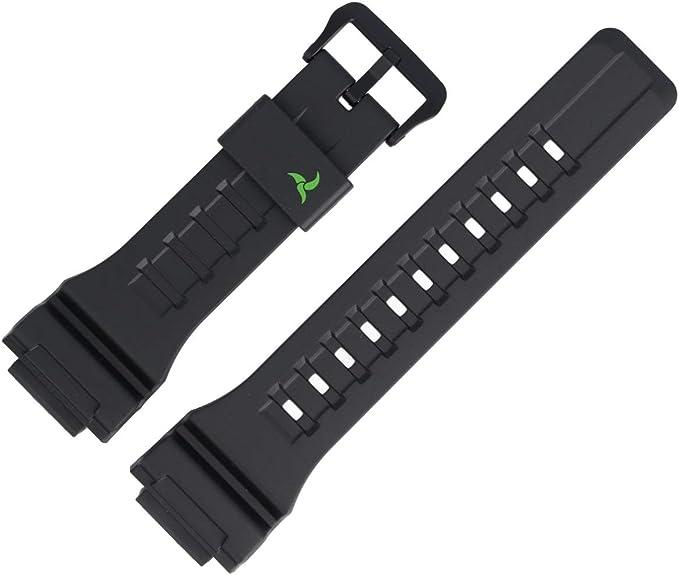 Casio STL S100H Bracelet de Rechange en Plastique Noir 27 mm  hioQ3