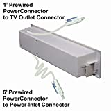 PowerBridge TWO-CK Dual Outlet for TV and Sound-Bar