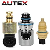 AUTEX 44RE 46RE 47RE Transmission EPC Solenoid Governer Pressure Sensor Output Speed Sensor Kit for 1996-1999 Chrysler Dodge & Jeep