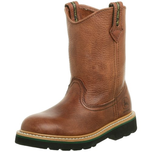 John Deere 2113 Western Boot ,Dark Brown,9.5 M US Toddler