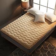 YCTTMM Coral Fleece Tatami Mattress,Japanese Futon Mattress Thai Massage Bed-C 180x200cm(71x79inch)