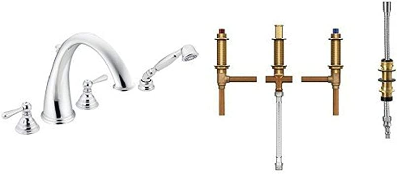 Rohl C7611//3TCB Country Kitchen Mini Bell Escutcheon Only for The A1435 and A1635 Filter Faucets with Leaver Handles Tuscan Brass Trumbull Industries