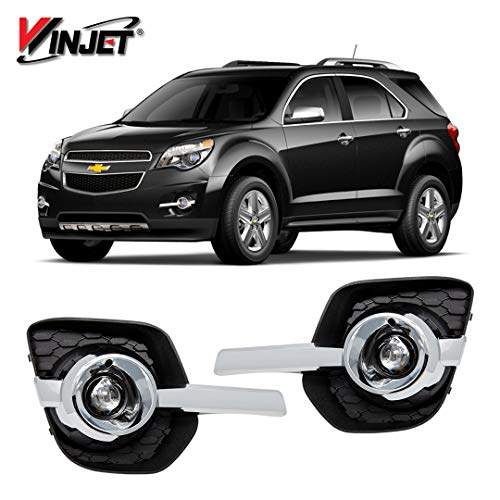 (Winjet WJ30-0587-09 OEM Series for [2010-2016 Chevy Equinox] Driving Fog Lights + Switch + Wiring Kit)