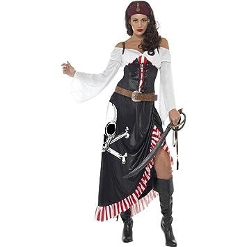 Smiffys Damen Kostum Heissblutige Piratin Piratenbraut Karneval