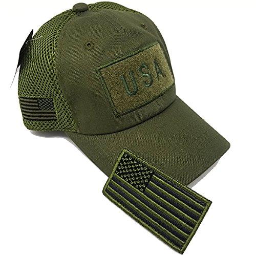 MrKap USA American Flag Patch Baseball Cap Men Women Mesh Hat (Olive) - Buy  Online in Oman.  aabcefce18