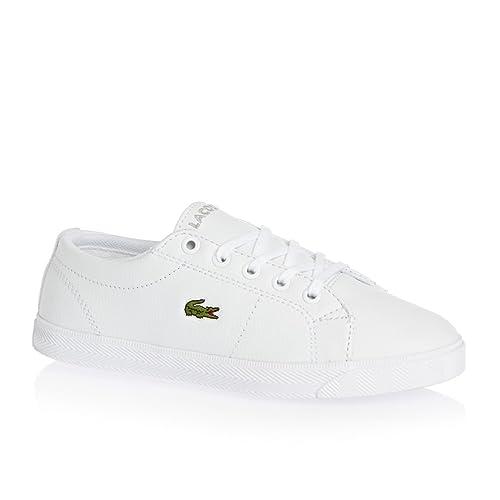 3a75003e4f7d2 Lacoste Junior Blanco Marcel LCR Zapatillas  Amazon.es  Zapatos y  complementos