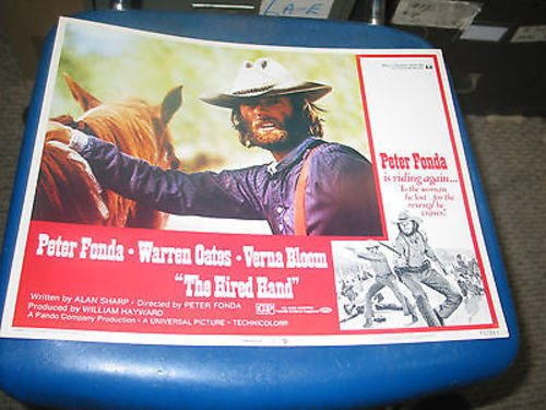 THE HIRED HAND /ORIG  11X14 LOBBY CARD 2 (PETER FONDA) at