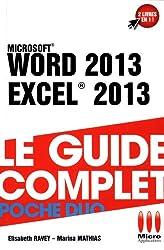 Word 2013 & Excel 2013