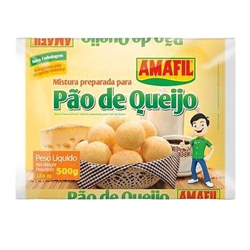 Cheese Bread - Cheese Bread Mix Amafil - 17.6 oz | Mistura para Pão de Queijo Amafil - 500g