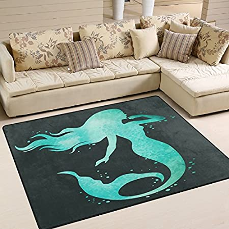 51blDyPytgL._SS450_ 50+ Mermaid Themed Area Rugs
