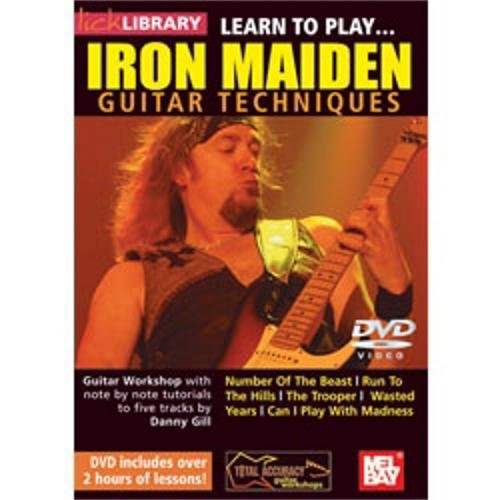 Mel Bay Learn to Play Iron Maiden Guitar Techniques (DVD) (Techniques Mel Bay)