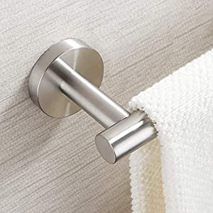 KES 9 Inches Hand Towel Rail Bathroom Towel Holder Kitchen Dish Cloths Hanger SUS304 Stainless Steel RUSTPROOF Wall…
