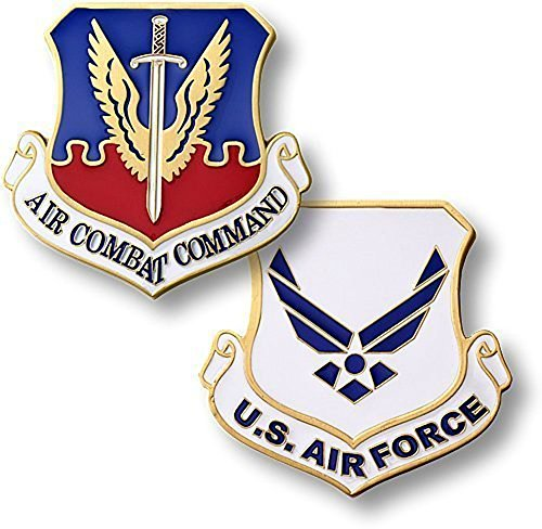 Provider Usaf Aircraft - U.S. Air Force Air Combat Command Challenge Coin