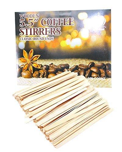 ound End Coffee Stirrers, 5.5