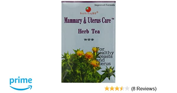 Amazon Com Health King Mammary Uterus Care Herb Tea Teabags 20