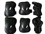 Children / Kids Protective Gear Sports Safety Pad Safe guard Inline Roller Skating Biking Knee Elbow Wrist Support Pad for bicycling and roller skating (style 2 / Under 13 years old)