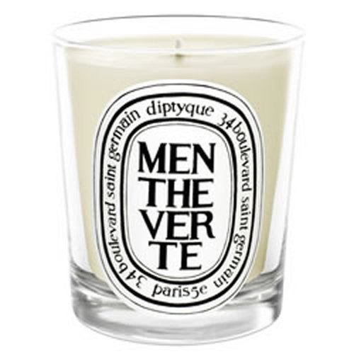 Diptyque Scented Candle - Menthe Verte (Green Mint) - 190g/6.5oz