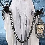 HAZOULEN Plastic Halloween Decoration Chain Costume