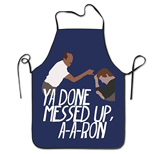 Women's Apron - Key & Peele Substitute Teacher Kitchen And Cooking Apron, Durable Stripe For Cooking, Grill And Baking