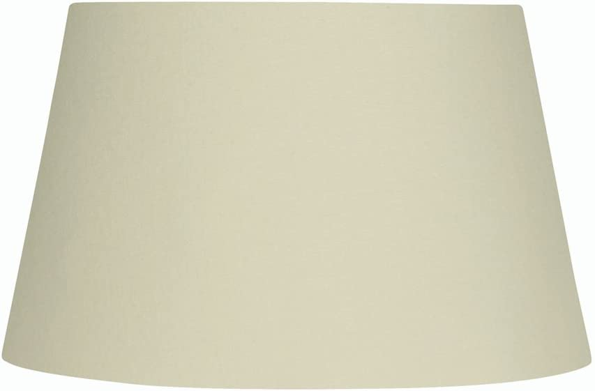 Oaks Lighting Cotton Drum Shade 8 Inch Cream Amazon Co Uk Lighting
