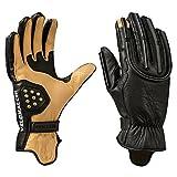 Velomacchi Speedway Deerskin Motorcycle Gloves Tan/Black Extra Large