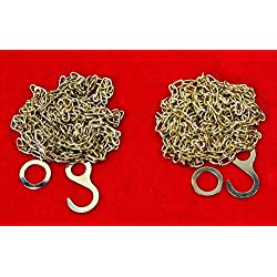 Cuckoo Clock Chain Fits Regula 25 35 70 NEW 61 Links Per Foot With Ends SET OF 2