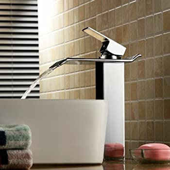 chic design waterfall bathroom faucets. Contemporary Solid Brass Bathroom Sink Faucet Widespread Waterfall Lavatory  Mixer Single Handle Deck Mounted Taps Delta 768LF SS Ara Hole