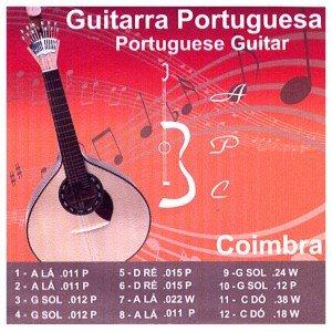 Guitarra portuguesa con palabra love Set-Juego De cuerdas: Amazon ...