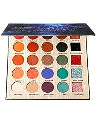 DE'LANCI Nocturne Eyeshadows Palette with Mirror - Matte...