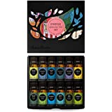 Everyday 100% Pure Essential Oil Gift Set-12/10 ml(Breathe Easier, Cleaning, Frankincense, Fighting Five, Lavender, Lemon, Muscle Relief, Peppermint, Purify, Stress Relief, Tea Tree, Uplift)
