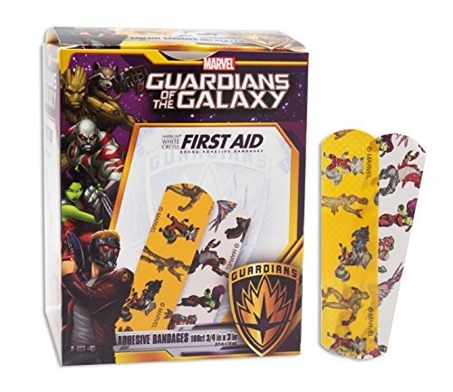 Marvel Guardians of the Galaxy Bandages - 100ct 3/4
