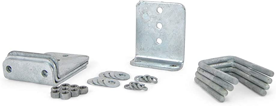 """12/"""" Vertical Hot Dipped Galvanized Boat Trailer Bunk Support Brackets 4"""