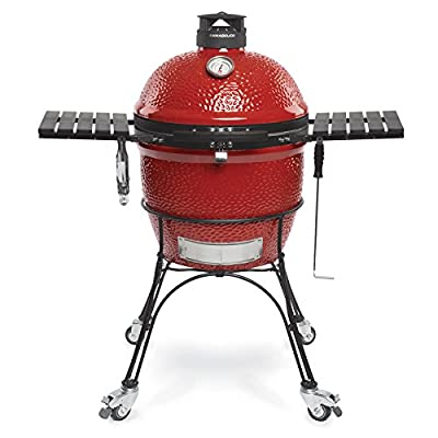 Kamado Joe KJ23RHC Classic II, Charcoal Grill,Blaze Red from Premier Specialty Brands