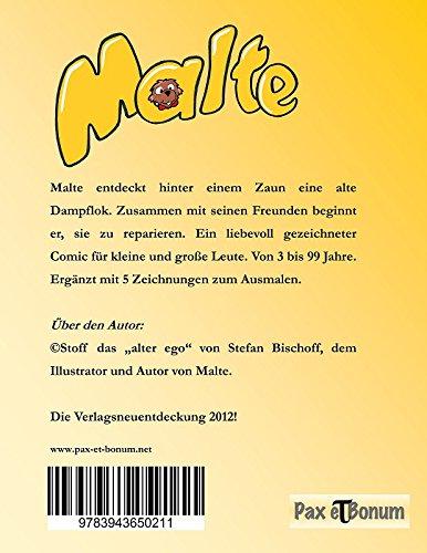 Malte Und Die Dampflok Eine Bildergeschichte Fur Alle Von 3 99
