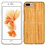 Apple iPhone 7 PLUS Case, Basketball Court Cover for Apple iPhone 7 PLUS Phone