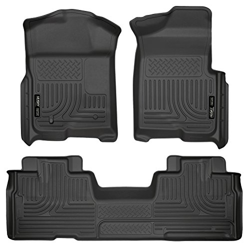 - Husky Liners Front & 2nd Seat Floor Liners Fits 09-14 F150 SuperCab