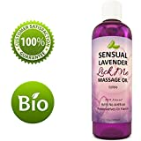 Edible Massage Oil And Lubricant - Sensual Massage Oil With Lavender And Almond Oil With Vitamin E - Natural Aphrodisiac Oil For Erotic Massages Moisturizing Body Oil For Men And Women