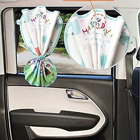 Auto-Sonnenschutz Vorhang f/ür Seitenfenster Baby Kinder Sonnenschutz Blocker Jalousie