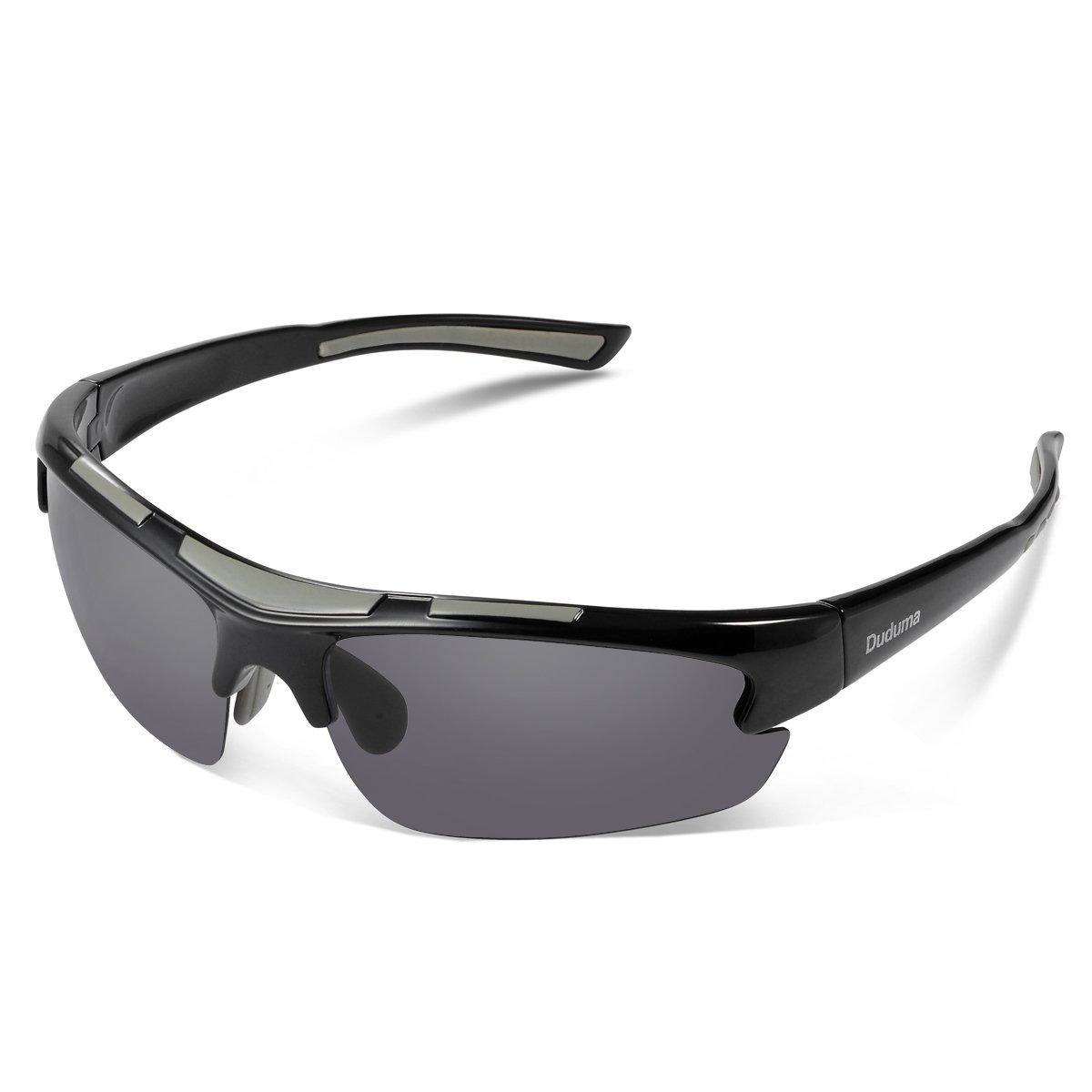 Duduma Polarized Designer Fashion Sports Sunglasses for Baseball Cycling Fishing Golf Tr62 Superlight Frame by Duduma
