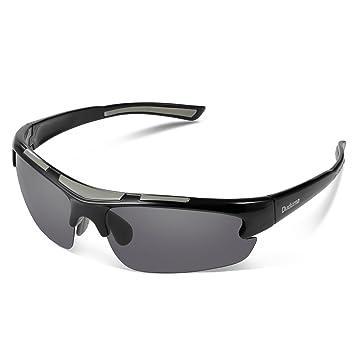 5a9fe9ce3a Duduma Polarized Sports Sunglasses for Men Women Baseball Running Cycling  Fishing Driving Golf Unbreakable Frame Du597