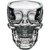 Generic General Crystal Skull Pirate Shot Glass Drink Cocktail Beer Cup, Transparent
