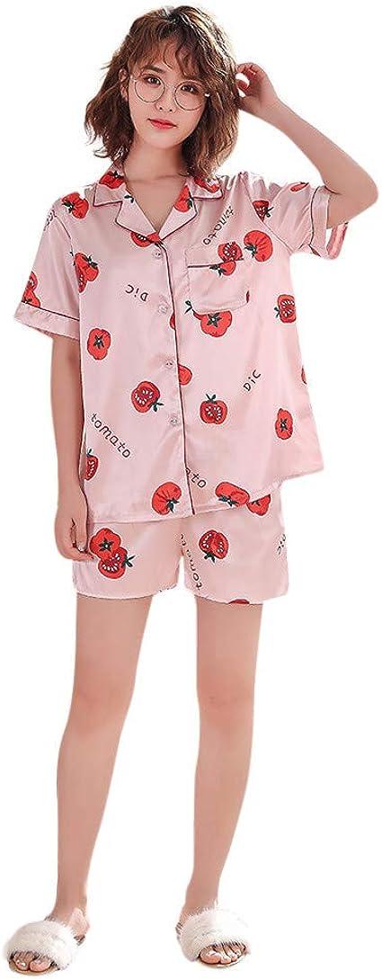Loolik Mujer Conjunto de Pijama Lindo con Estampado de ...
