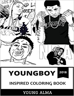 Youngboy Inspired Coloring Book Rap Prodigy And Mainstream Gangsta