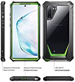 Galaxy Note 10 Rugged Clear Case, Poetic