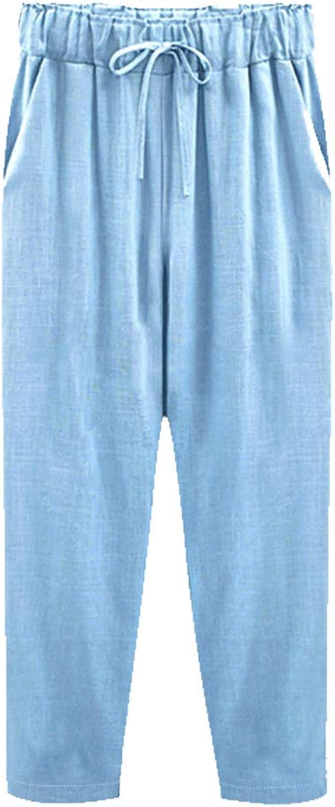 Donna Pantaloncini JERSEY DONNA RAGAZZA COTONE COMFORT CASUAL Vacanze Estate Spiaggia Pantaloni
