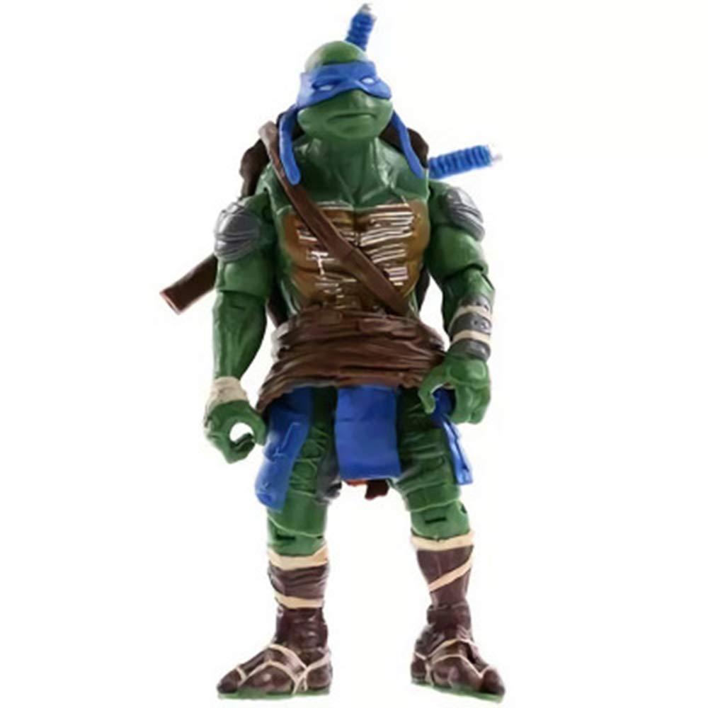CHANG 4 Unids Set Teenage Mutant Ninja Turtles Figuras De Acción De Rafael Leonardo Donatello Decoración del Hogar Juguetes Niños,OneSize