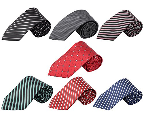 Mens Tie Set 7 Pack
